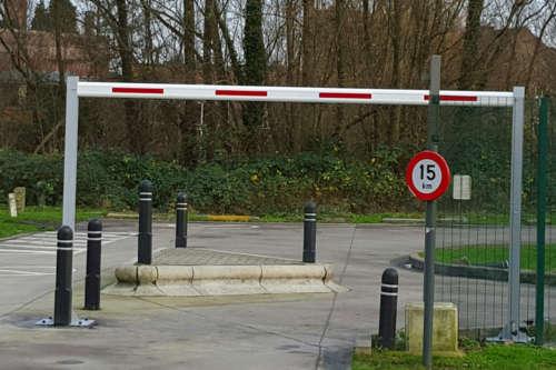 Alphatronics Hoogtebegrenzer Op Parking