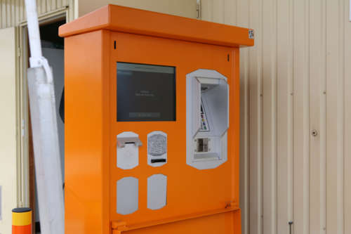 Alphatronics Betaalkiosk Recyclagepark
