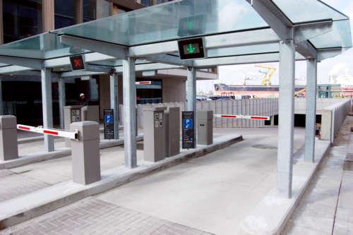 Parksystem Mit Zahlungsautomat
