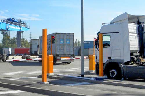 Logistische Zugangskontrolle