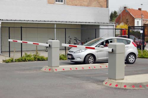 Alphatronics Beheer Parking Ziekenhuis Met Slagbomen En Toegangscontrole