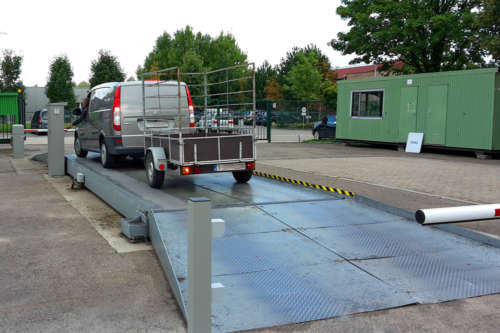 Alphatronics Weegbrug Recyclagepark