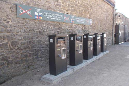 Alphatronics Betaalzuil Parking
