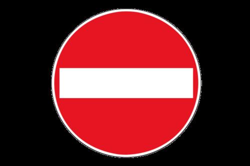 Alphatronics Verkeersbord Verboden Voor Voertuigen