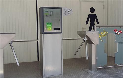 Tripo-D Zahlendes Toilettensystem