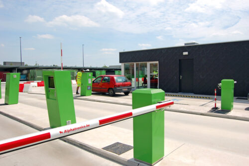 Alphatronics Toegangscontrole Recyclageparken