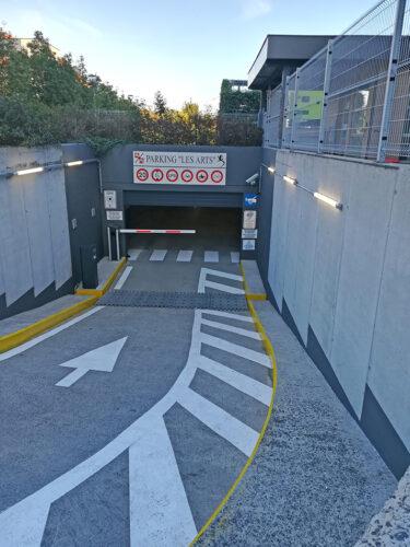 Parkeersysteem Voor Ondergrondse Parking