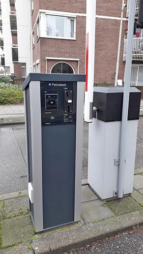 Alphatronics SmartOne Slagboom Ikea Amsterdam