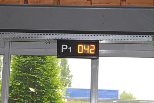 Parkplatzzählung