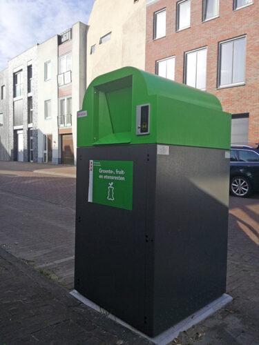 Binbeat Offgrid Toegangscontrole Voor Ondergrondse Containers