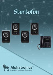 Stentofon intercom
