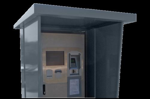 TopLinePlus-Kiosküberdachung
